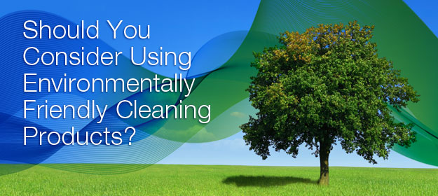 Should You Consider Using Environmentally Friendly Cleaning Products?