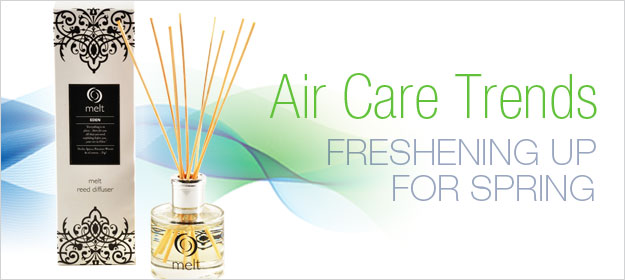 Freshening Up for Spring: Air Care Trends