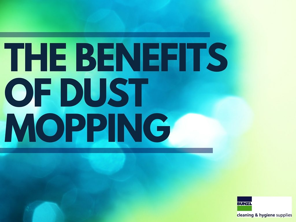 the benefits of dust mopping
