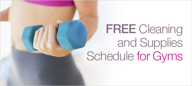Gyms Cleaning Schedule