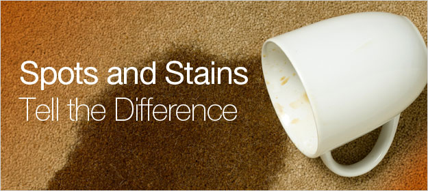 spots and stains
