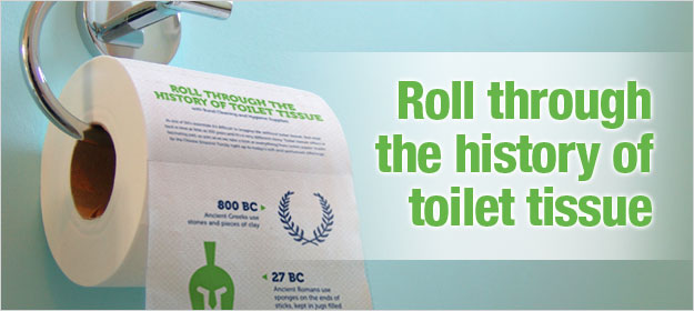 infographic roll through the history of toilet tissue bunzl cleaning hygiene supplies blog. Black Bedroom Furniture Sets. Home Design Ideas