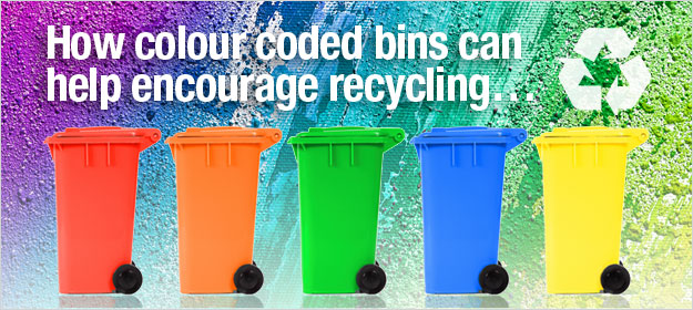 How Colour Coded Bins Can Help Encourage Recycling