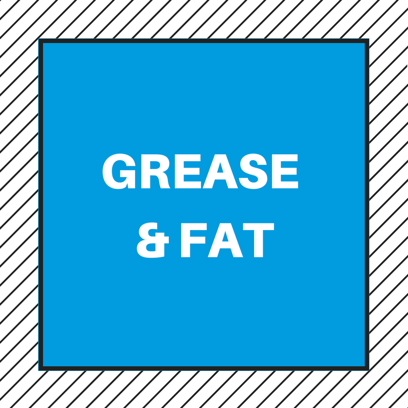 HOW TO GET RID OF THE SMELL OF GREASE AND FAT