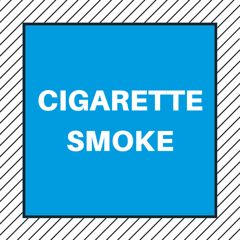 HOW TO GET RID OF THE SMELL OF CIGARETTE SMOKE