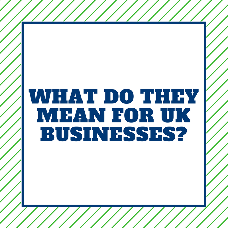 what do the new EU regulations mean for UK businesses
