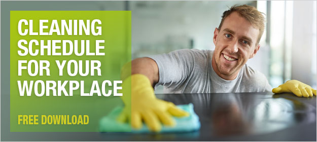 DOWNLOAD: Cleaning schedule for your workplace