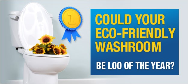 Could your eco-friendly washroom be the Loo of the Year?