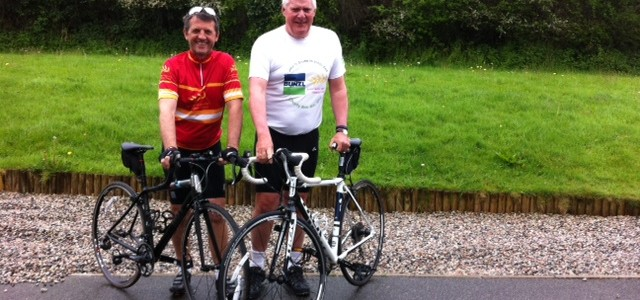 Retired Bunzl CHS Employee Ernest Takes on the End-to-End Cycle Challenge
