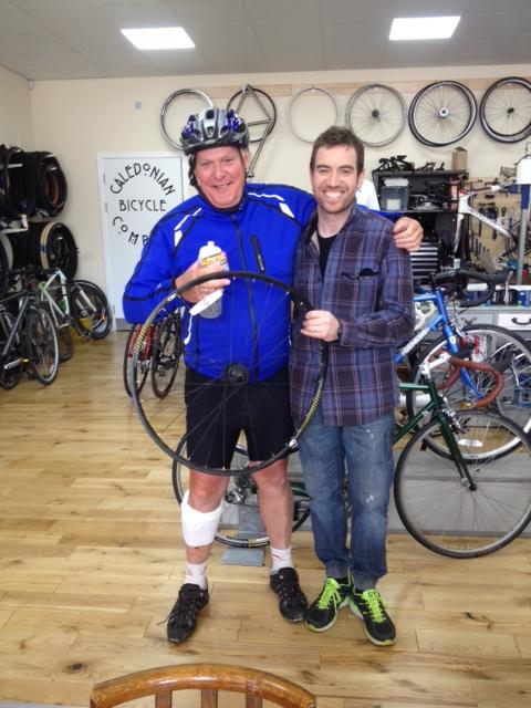 Ernest blog post - bike shop
