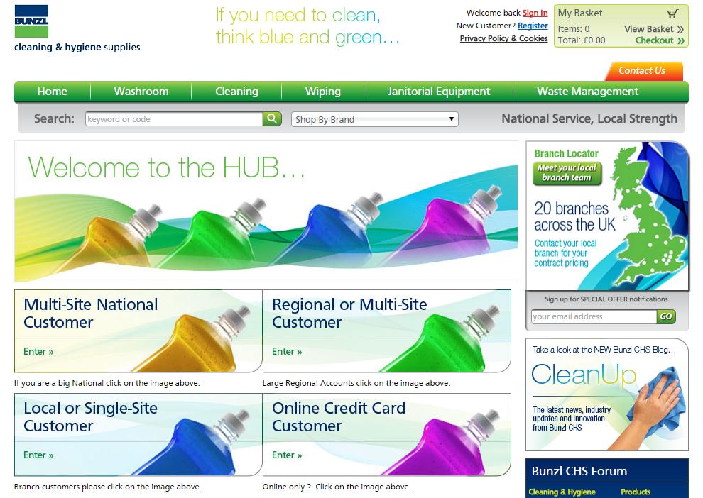 BCHS Customer Hub BCHS