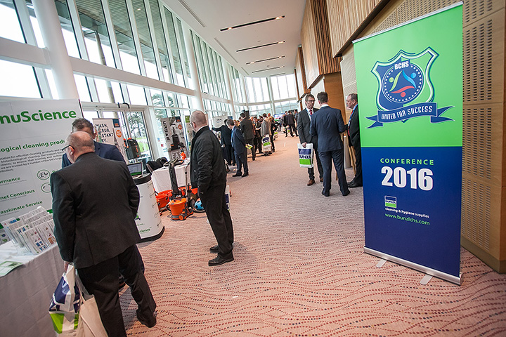 2016 Bunzl CHS Conference took place at St. George's Park in Burton Upon Trent