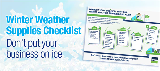 Winter Weather Supplies Checklist: Don't Put Your Business On Ice