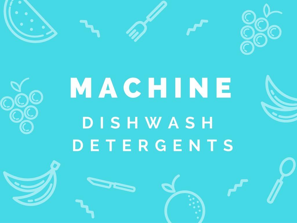 machinedishwashdetergents