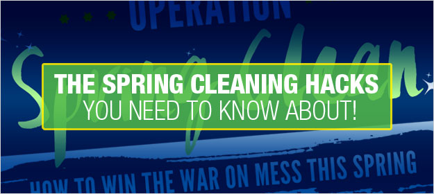 Home Spring Cleaning Hacks You Need to Know About [INFOGRAPHIC]