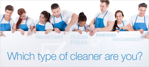 Which Type Of Cleaner Are You?