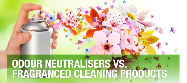 Odour Neutralisers vs Fragranced Cleaning Products - what is the difference?
