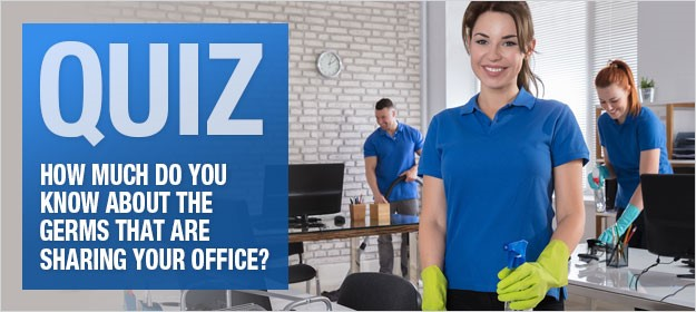 How much do you know about the germs that are sharing your office?