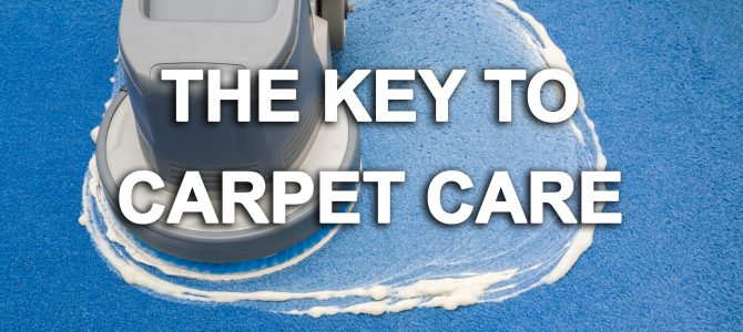 The Key To Carpet Care